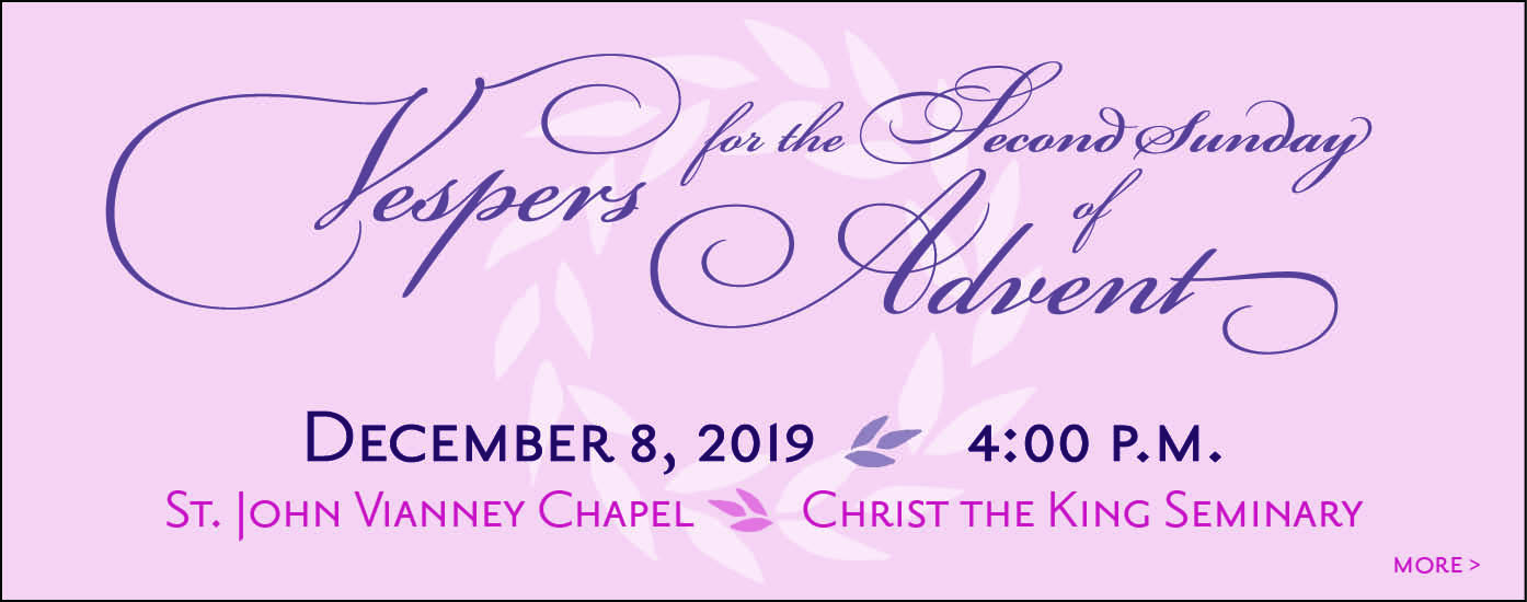 Vespers for the Second Sunday of Advent